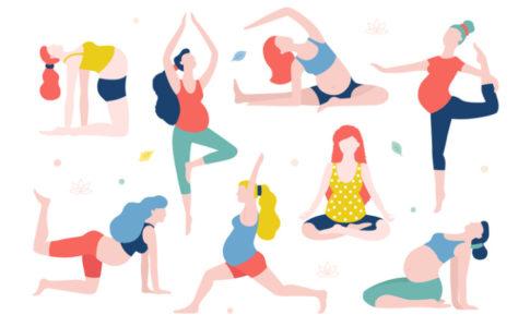 Frauen beim Sport
