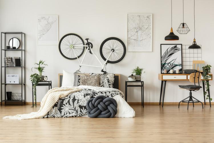 Jugendzimmer im trendigen Stil
