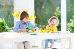 Kinder basteln