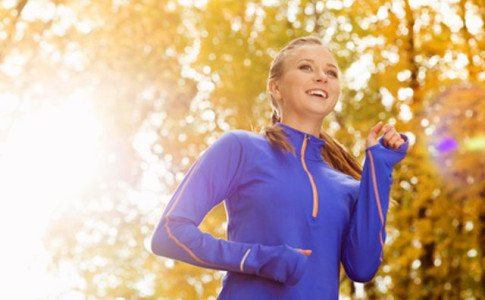Joggen Frau Sport