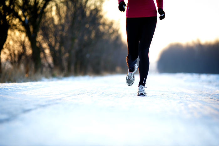 Joggen im Winter stärkt das Immunsystem