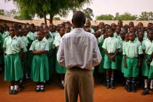 kinder schule afrika