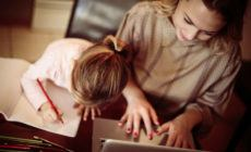 kreatives Schreiben - Mutter und Tochter