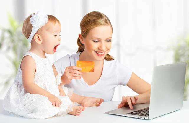 Kreditkarte für die Familie