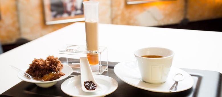 Kochen mit Lavazza Kaffee