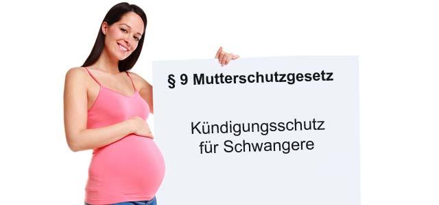 Kündigungsschutz für Schwangere