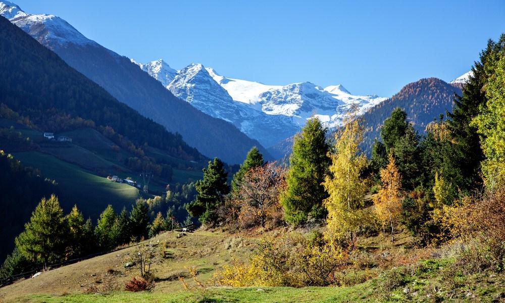 Bilck auf die Berge