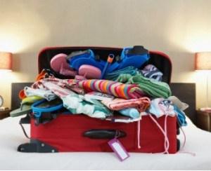 gefüllter Koffer